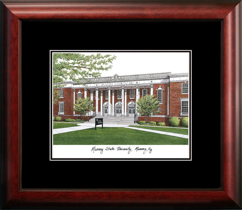 Murray State University Academic Framed Lithograph