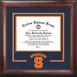 Syracuse Orange 11w x 8.5h Spirit Diploma Frame