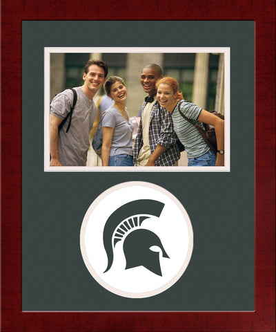 Michigan State Spartan,Spirit Photo Frame (Horizontal)