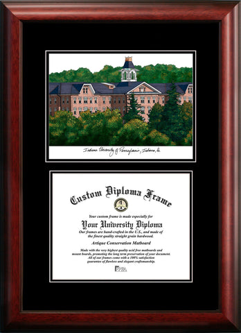Indiana University, PA 11w x 8.5h Diplomate Diploma Frame