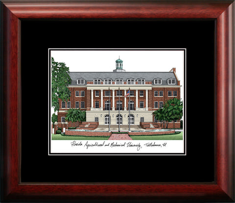 Florida A&M  Academic Framed Lithograph