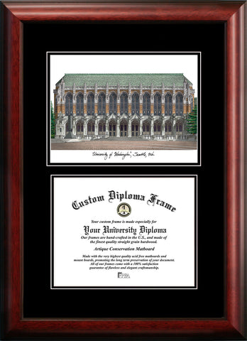 Old Dominion Diplomate Diploma Frame