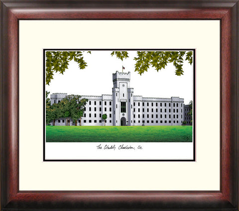 The Citadel Alumnus Framed Lithograph