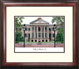 College of Charleston Alumnus Framed Lithograph