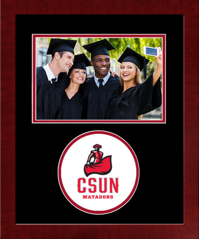 Cal State Northridge Matadors Spirit Photo Frame (Horizontal)