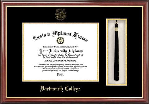 Dartmouth College 16w x 12h Tassel Box and Diploma Frame
