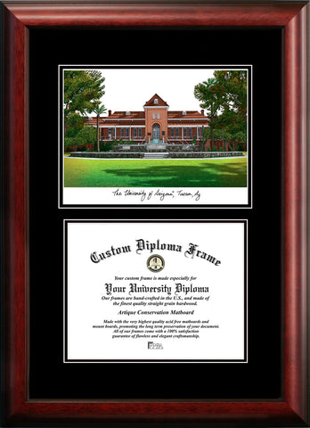 University of Arizona 11w x 8.5h Diplomate Diploma Frame