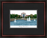 University of Houston Academic Framed Lithograph