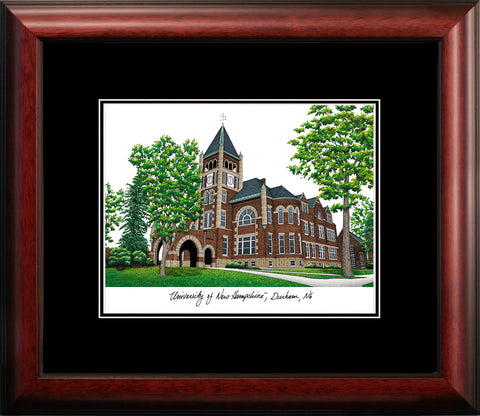 University of New Hampshire Academic Framed Lithograph