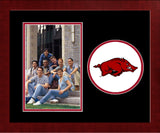 University of Arkansas Spirit Photo Frame (Vertical)