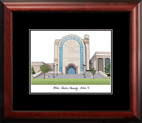 Abilene Christian University Academic Framed Lithograph