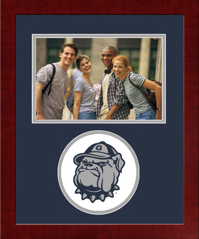 Georgetown University Spirit Photo Frame (Horizontal