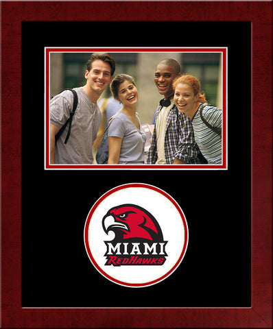 Miami University Redhawks Spirit Photo Frame (Horizontal)