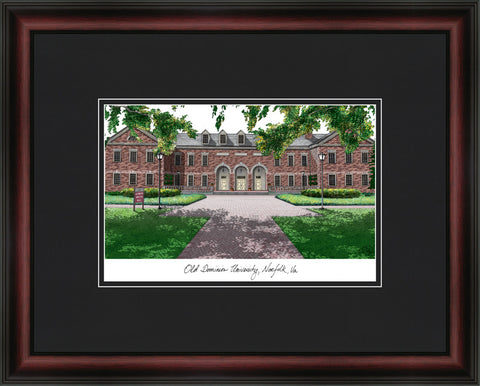 Old Dominion Academic Framed Lithograph