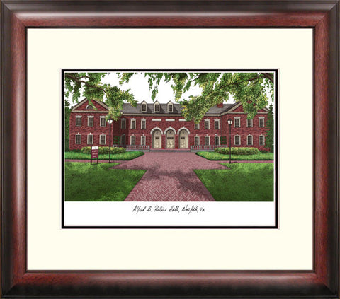 Old Dominion Alumnus Framed Lithograph