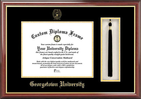 Gerogetown 17w x 14h Tassel Box and Diploma Frame