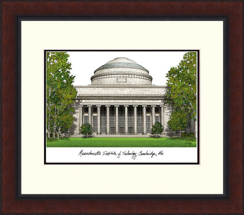 Massachusetts Institute of Technology Legacy Alumnus Framed Lithograph
