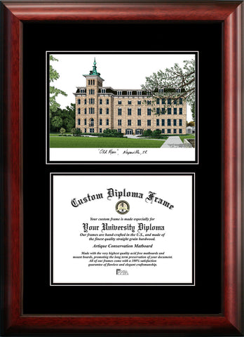 North Central College 11w x 8.5h Diplomate Diploma Frame