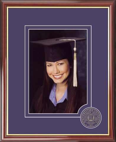 Northwestern University 5X7 Graduate Portrait Frame