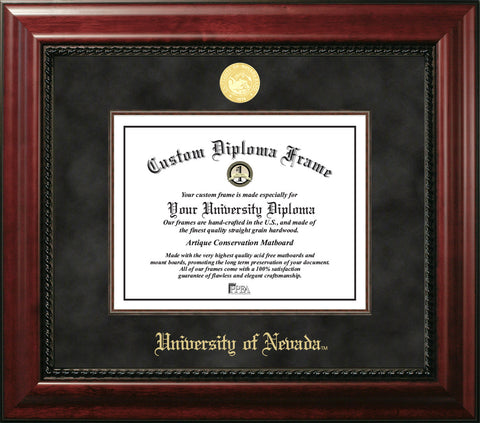 University of Nevada, Reno 11w x 8.5h Executive Diploma Frame