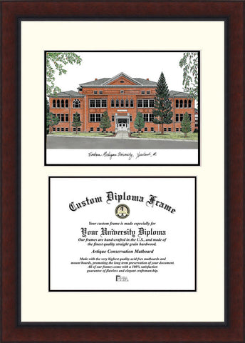 Eastern Michigan University 8 x 10 Legacy Scholar Diploma Frame