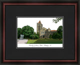 University of Illinois, Urbana-Champaign Academic Framed Lithograph
