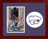 Kansas State Wildcats University Spirit Photo Frame (Vertical)