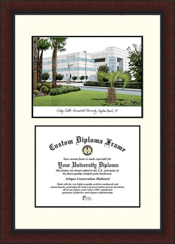 Embry-Riddle University 11w x 8.5h Legacy Scholar Diploma Frame
