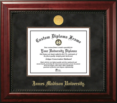 "James Madison University 16""w x 12""h Executive Diploma Frame"
