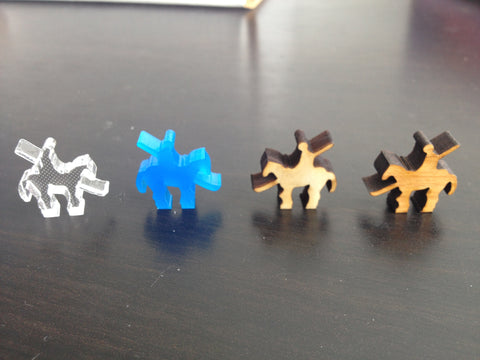 Board Games - Cavalry Meeples