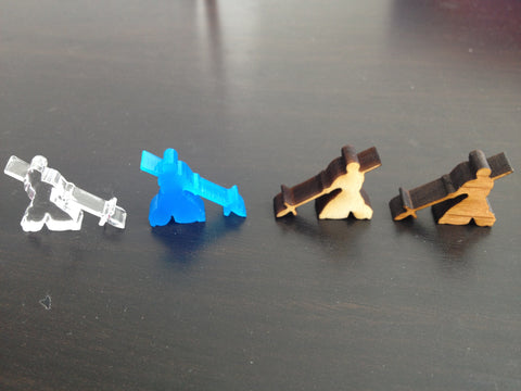 Board Games - Pikeman Meeples