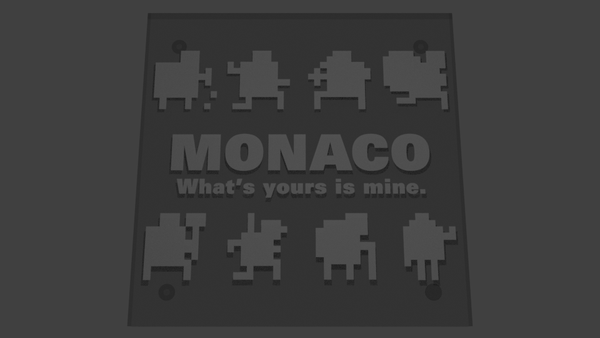 Monaco - What's Yours is Mine - Coaster