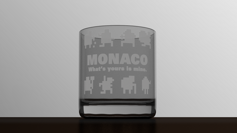 Monaco - Full Ensemble - Etched Glass