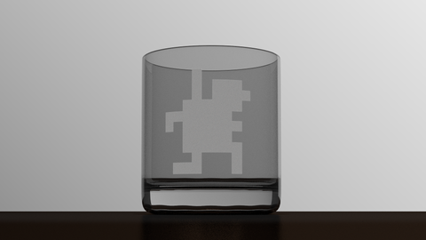 Monaco - Hacker - Etched Glass