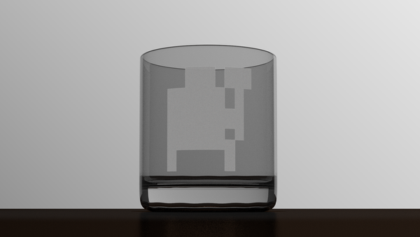 3D render of a 10oz tumbler