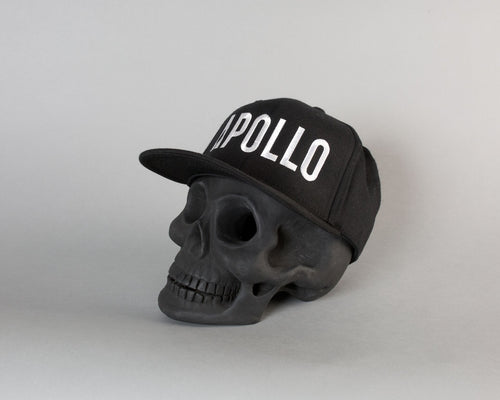 Apollo Compton Snapback | Black/White - Apollo Originals
