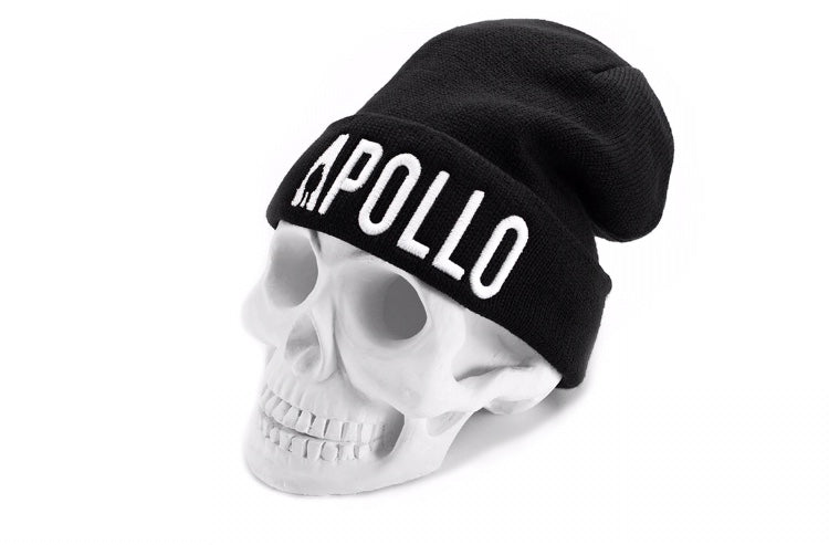 Apollo Compton Beanie | Black/White - Apollo Originals