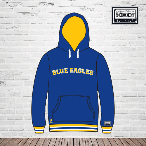 Blue Eagles Old School Hoodie