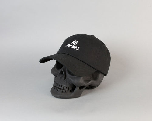 No Apollogies Dad Cap | Black - Apollo Originals