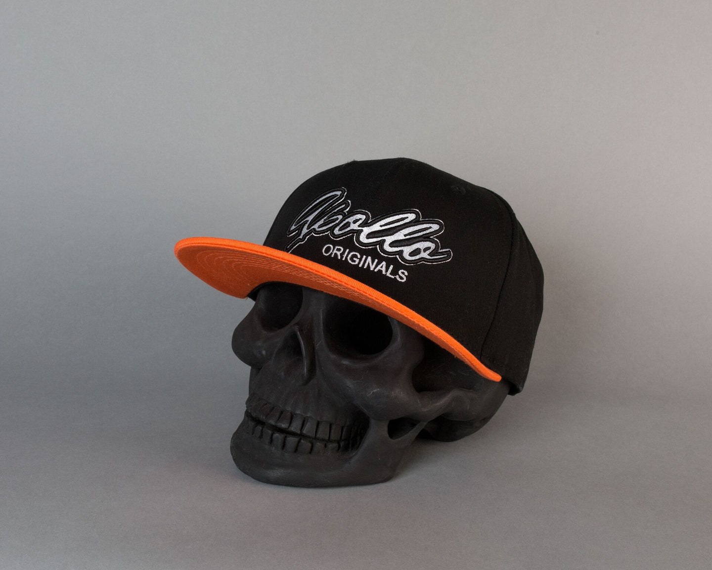 Team Apollo Snapback | Black & Orange - Apollo Originals
