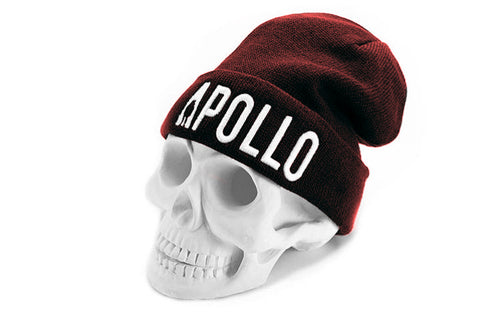 Apollo Compton Beanie | Burgundy - Apollo Originals