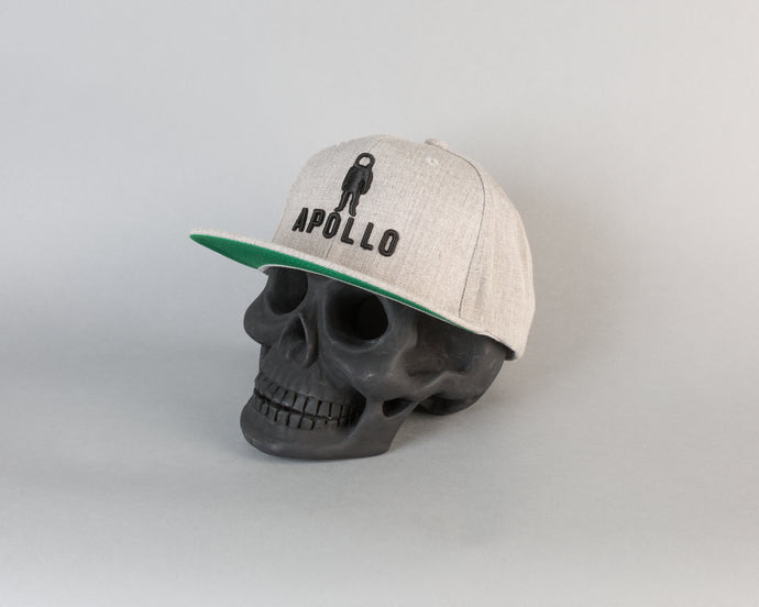 Classic Snapback (Heather Grey/Black) - Apollo Originals