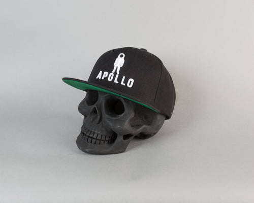 Classic Snapback | Black/White - Apollo Originals