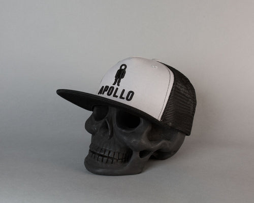 Classic Meshback | Black & White - Apollo Originals