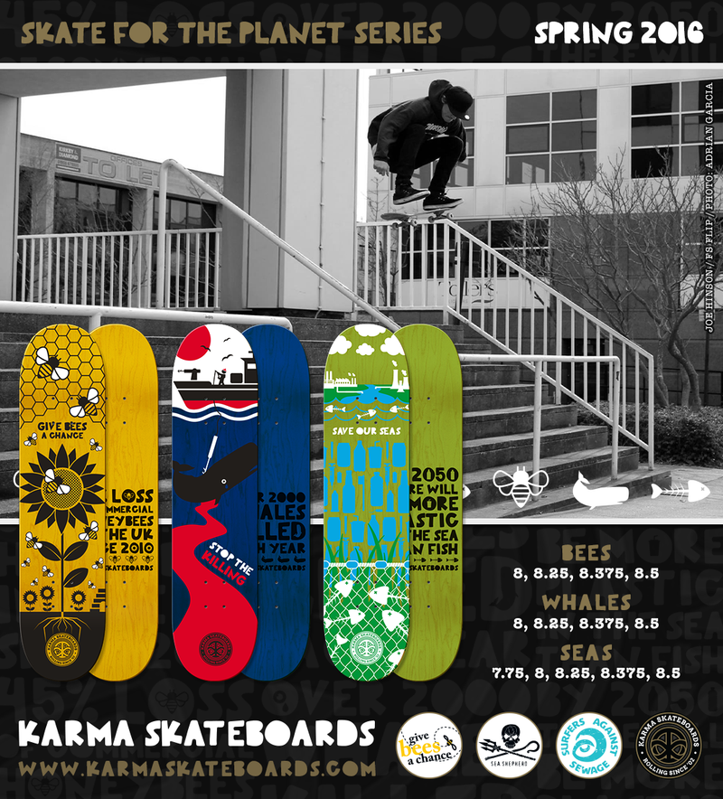Karma Skateboards: Skate for the Planet