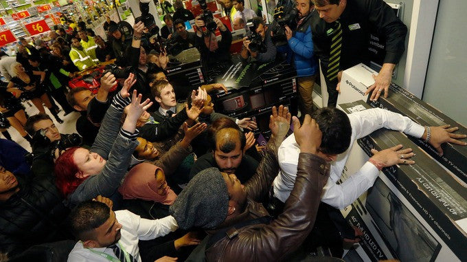 Anti-Black Friday 2016 - Why we're paying you to stay away...