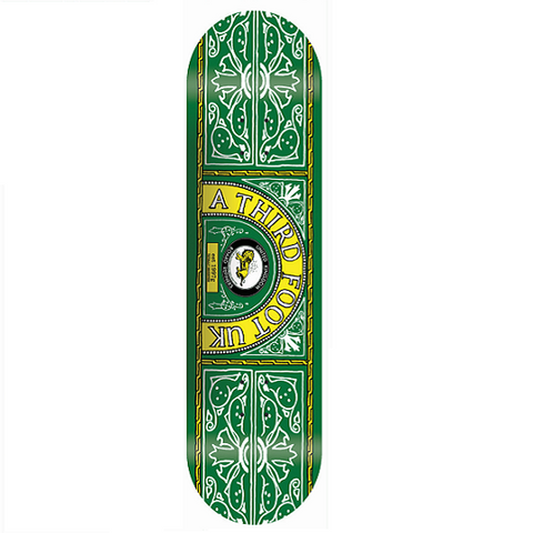 A Third Foot Skateboards Skate and Lyle Deck