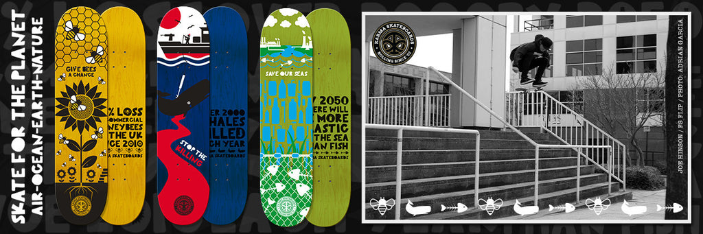 Karma Skateboards / TVSC £10 Donation to Skate for the Planet