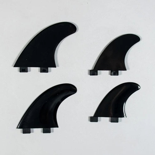 Northcore Northcore Nylon Quad Surf Board Fins | Black - TVSC