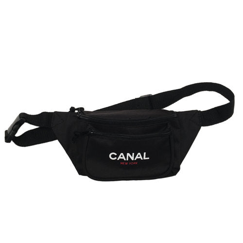 Canal New York Canal New York Sport Pacc Hip Bag | Black - TVSC